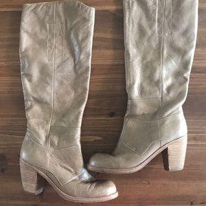 Dolce Vita tan knee high boots